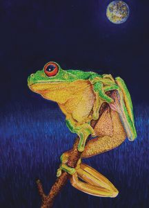 frog-blue-moon-portait