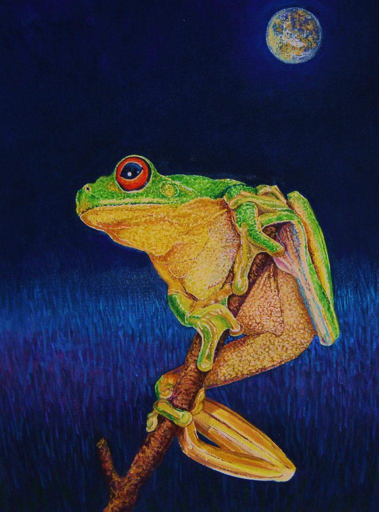 Full Moon Frog