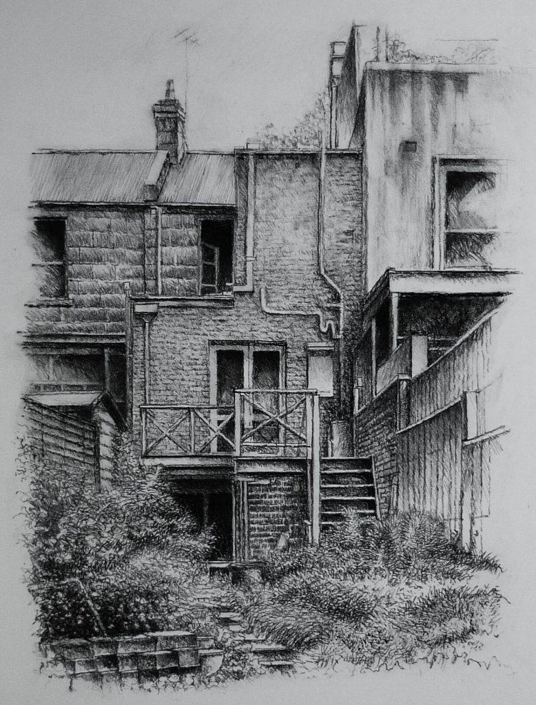 Passing Rain - Sketch II